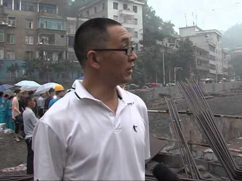 7 dead in central China landslide