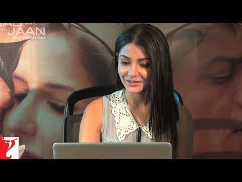 Live Video Chat With Anushka Sharma - Part 2 - Jab Tak Hai Jaan
