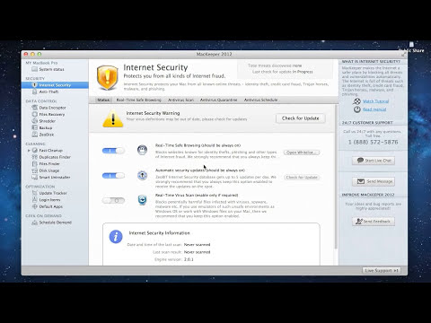 MacKeeper Internet Security Tutorial