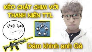 Bị TTL Khinh Bắn Gà • Gạ Kèo Chặt Chim CMNL ✔ Pino.NTK