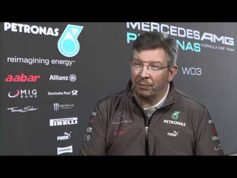 F1 2012 - Mercedes AMG F1 W03 launch - Ross Brawn (Interview)