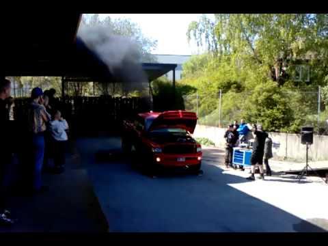 Dodge ram 2500 twin turbo at dyno