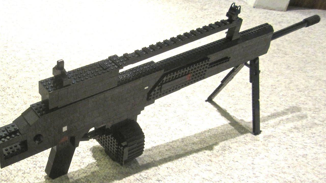 LEGO MG36 - Modern Warfare 3 - Life Size - YouTube | 2716 x 1527 jpeg 559kB