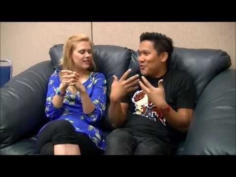 Syfy Autograph Hunters Interviews: (Janet Varney & Dante Basco) at MetroCon 2013