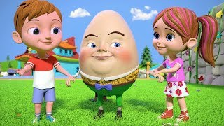 Humpty Dumpty | Kindergarten Nursery Rhymes for Children | Kids Songs & Cartoons by Little Treehouse