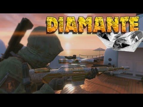 Camuflaje DIAMANTE - Sniper/Francotirador - Black Ops 2