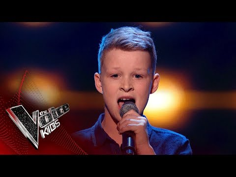 Jude Performs 'When I Was Your Man': Blinds 1 | The Voice Kids UK 2018
