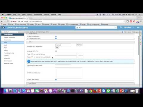 How To Configuration Size Send Email-Attachment on Zimbra Ma...