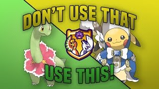Meganium and Pikachu: PU Dont Use That Use This!
