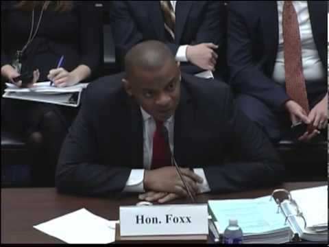 Rep. Sanford Questions Secretary of Transportation Anthony Foxx