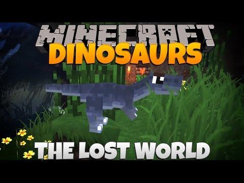 Minecraft Dinosaurs Part 23: The Lost World.