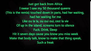 Justin Bieber Video - Trey Songz - Foreign (Remix) ft. Justin Bieber (Lyrics)