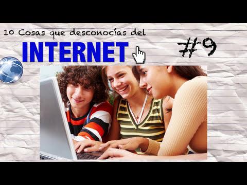 10 Cosas que Desconocías del INTERNET