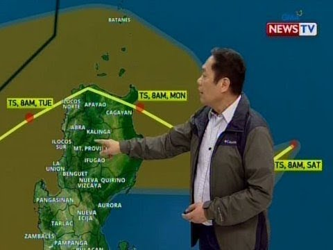 BT Weather update as of 1205 November 16, 2019