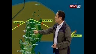 BT: Weather update as of 12:05 (November 16, 2019