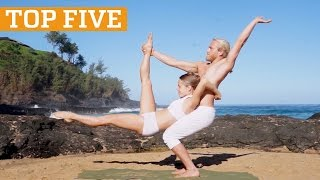 Amazing Acroyoga And Cliff Diving Compilation