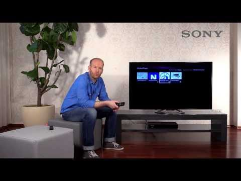 SONY BRAVIA TV - 9 Mediaplayer über USB / DLNA