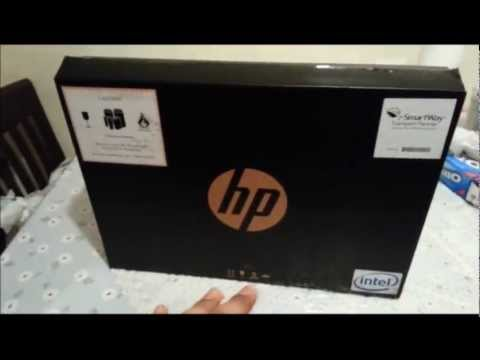 HP Pavilion Sleekbook 14 Unboxing