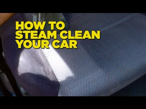 How To Steam Clean Car DIY