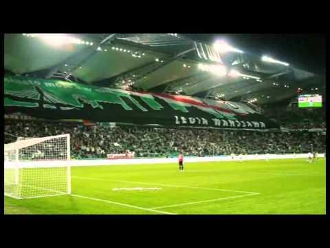 Legia - Den Haag. Doping kibiców.