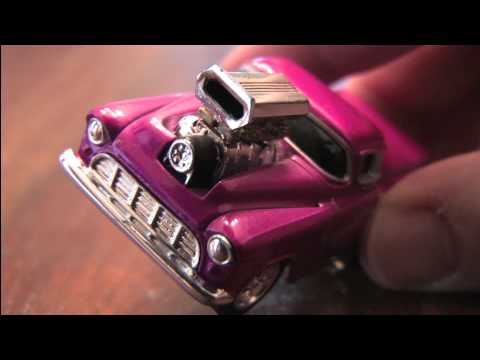 '55 CHEVY PICKUP TRUCK Muscle Machines review by CGR Garage