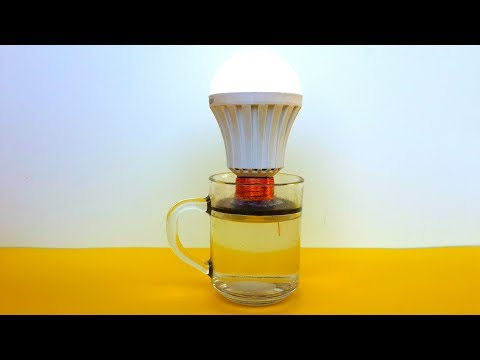 Free Energy Science Light Bulb using Magnet thumbnail