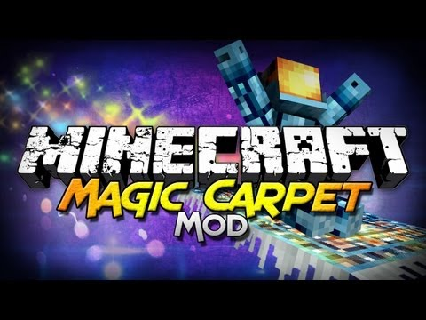 Minecraft Mod Showcase: Magic Carpet - Soar the Skies!