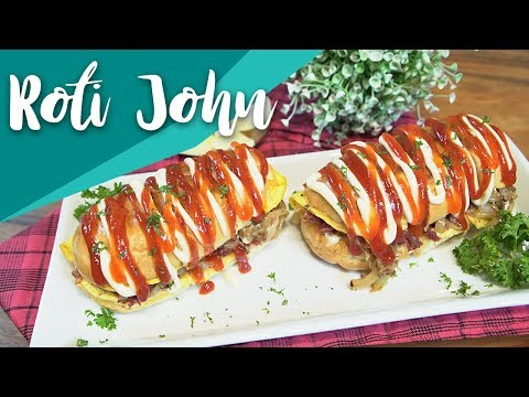 Resep Roti John by Putri Miranti | GO COOK #7