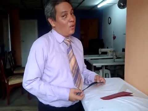 CLASES DE SASTRERIA: ARMADO DE PANTALÓN. LA BRAGUETA: EL MANDIL