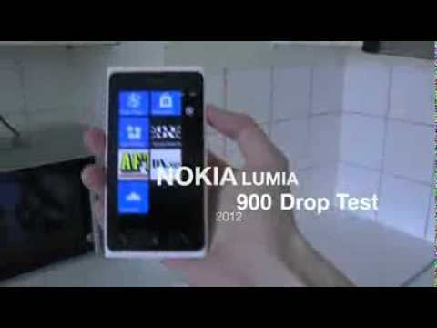 Nokia Lumia 900 - Drop Test