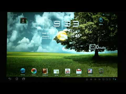 How to Use an Android Tablet - Email Setup