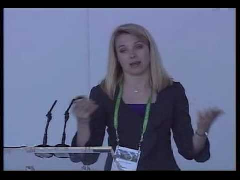 Marissa Mayer at Google Press Day Paris