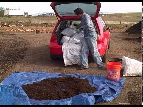 Best Way to Haul Half Cubic Yard of Compost in Your Car to Enrich Your Garden