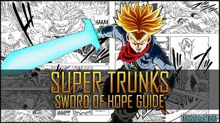 Xenoverse 2: DB Super Trunks - Sword of Hope Combo Guide