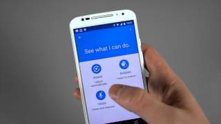 Moto X (2nd gen) Tip: Setup Moto Voice to recognize a whistle!