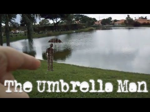 Weather Report Umbrella Man Spotted Again!
