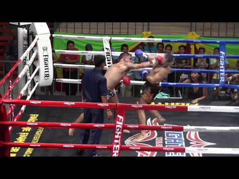 Jason (Tiger Muay Thai) vs Sergei (Sinbi Muay Thai) @ Rawai Boxing Stadium 9/1/16