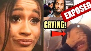 CARDI B baby daddy side chick leaked a confession video EXPOSING OFFSET and she says she sorry