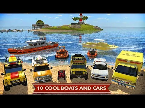 Coast Guard Beach Rescue Team Part 1 Android Gameplay