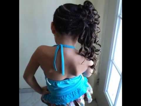 peinadito fashion para niña