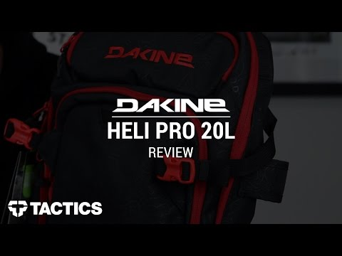 DAKINE Heli Pro 20L Snowboard Backpack Review - Tactics.com