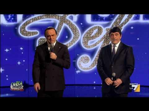 Crozza Berlusconi canta: I'm just a Cigolò