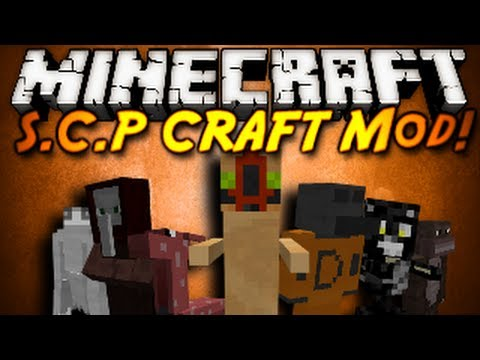 Minecraft Mod Showcase : SCP CRAFT!