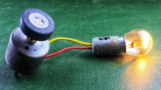 Science Electric Free Energy Charging Mobile 100% With DC Motor New Technology Idea 2019