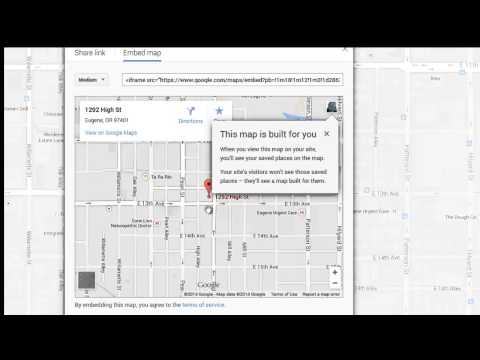 How to Add a Google Map to Your Website
