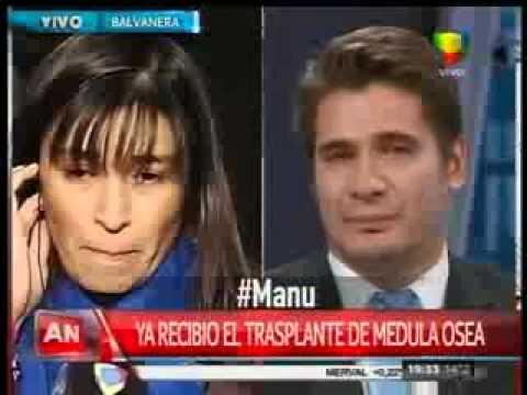 Guillermo Andino, quebrado en llanto por la historia de Manu