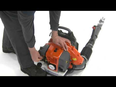 How to Start a Husqvarna Backpack Blower