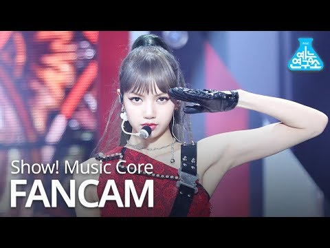 [예능연구소 직캠] BLACKPINK - Kill This Love (LISA), 블랙핑크 - Kill This Love (리사) @Show! Music Core 20190406