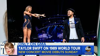 Taylor Swift '1989' World Tour Film First Look