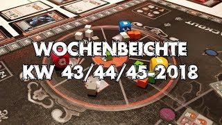 Teotihuacan, Meeple Circus, Blackout Hong Kong u.v.m. - Wochenbeichte #22 (KW 43-45/2018)